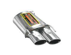 Supersprint Rear exhaust Left 120 x 80 Alfa Romeo BRERA / SPIDER (755037)