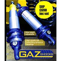 GAZ Gold Professional Coilover Kit Lotus Exige Part No GGPLOTUSEXIGE