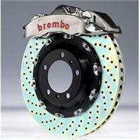 Brembo GTR Kit - E46 330 Rear  1999-2005 4 Pot 345x28 2-Piece