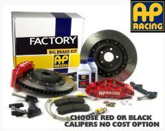AP Factory Big Brake Kit - BMW M3 E46 Rear Kit 2000- 4 Pot STD disc 8.5x18 inch or 19inch MSport BMW wheel
