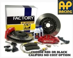 AP Factory Big Brake Kit - BMW M3 E46 Rear Kit 2000- 4 Pot AP Grooved disc 8.5x18 inch or 19inch MSport BMW wheel