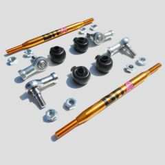 DNA Racing - ALFA MITO RACING SWAY BAR TIE RODS ON UNIBALL KIT