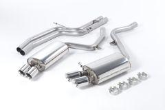 Milltek Exhaust AUDI S5  Coupé 4.2 V8 quattro (Manual and Auto) 2007-2011 - SSXAU190