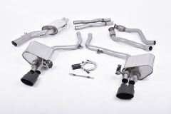 Milltek Exhaust - AUDI S4 3.0 Supercharged V6 B8  2009 - 2012 (SSXAU380)