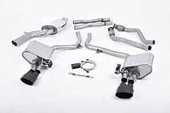 Milltek Exhaust - AUDI S5 3.0 TFSI B8 Sportback  2010 - 2011 (SSXAU402)