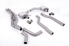 Milltek Exhaust - AUDI RS7 C8 4.0 V8 bi-turbo  2019 - 2022 (SSXAU864)