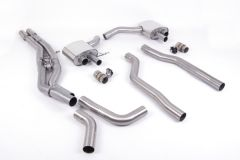 Milltek Exhaust - AUDI RS6 C8 4.0 V8 bi-turbo  2019 - 2022 (SSXAU865)