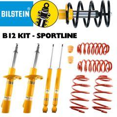 Bilstein B12 - Sportline FULL KIT PEUGEOT 307 307 (3A/C) 1.4,  1.4 16V,  1.4 HDi,  1.6,  1.6 BioFlex,1.6 HDi,  1.6 HDi 110,  2.0,  2.0 16V,2.0 HDi 110 FAP,  2.0 HDi 135,  2.0 HDi 90 08/00 -  (46-190659_914)
