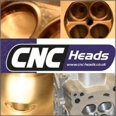 CNC MODIFIED CYLINDER HEAD AUDI  RS6 V10 (pair)