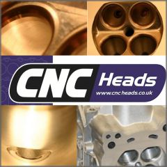 CNC MODIFIED CYLINDER HEAD FORD  Crossflow(Alloy big valve version)