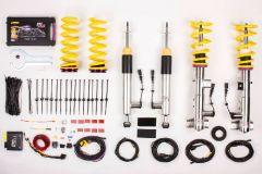 KW DDC ECU Coilovers - ASTON MARTIN V8 Vantage, V8 Vantage S; (VH2) Roadster; thread piston rod 12mm 01/07- (39033002)