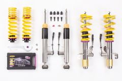 KW DDC Plug & Play Coilovers - SEAT Leon ST; (5F) with electronic dampers Estate; 2WD; only vehicles with IRS;susp strut  55mm 11/13- (39081007)