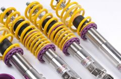 KW VARIANT 2 INOX Coilovers VW Golf VI; (1K, 1KM) w/o DCC Cabriolet / convertible 50mm Strut 06/11- (15280088_1062)