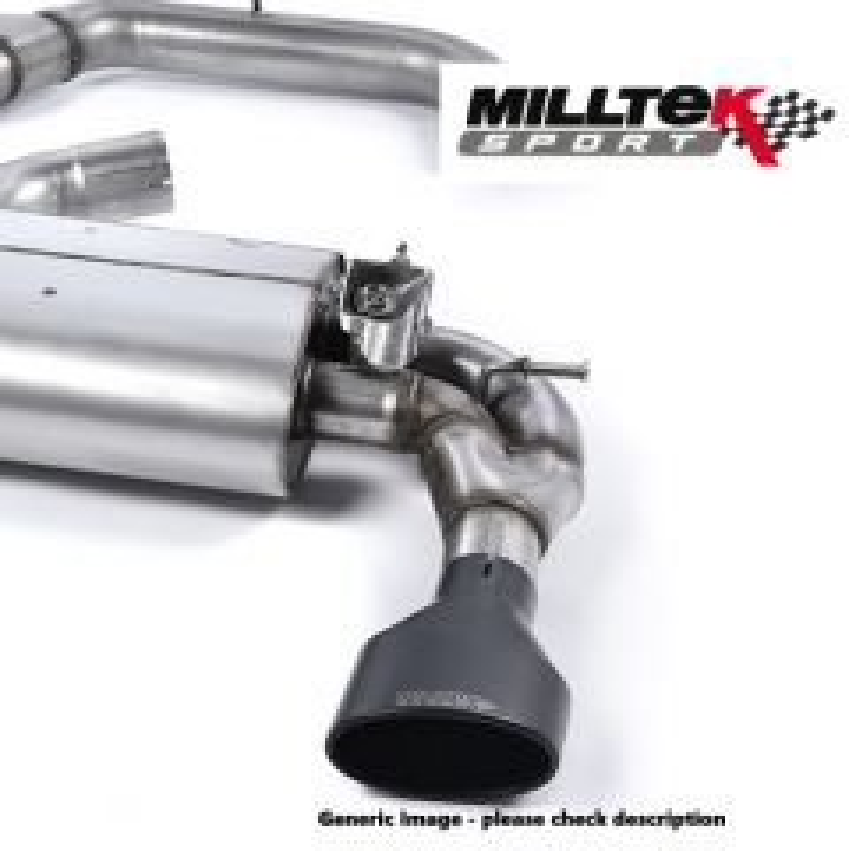 Milltek Exhaust AUDI QUATTRO  UR quattro 10v Turbo 1981-1989 - MCXAU109