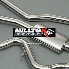 Milltek Exhaust AUDI TT MK2  TT RS Coupé 2.5-litre TFSI quattro 2009-2014 - SSXAU250