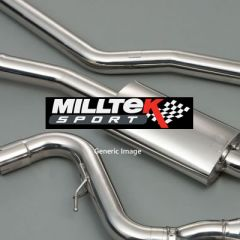 Milltek Exhaust AUDI TT MK2  TT RS Roadster 2.5-litre TFSI quattro 2009-2014 - SSXAU250