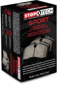 REAR Stoptech Street Performance Pads MAZDA 3 MPS TURBO (New Model) 2010 -