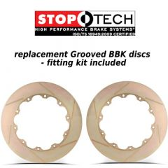 Stoptech Big Brake Kit replacement discs 380mm x 35mm Slotted Zinc Coat Discs
