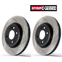 FRONT Stoptech Sport Discs BMW M3 CSL (E46) (Drilled) (345mm) 2003 - 2004