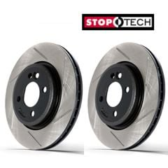FRONT Stoptech Sport Discs AUDI A4 1.8 Turbo (Also Quattro) 2001 - 2007