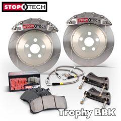 FRONT STOPTECH Trophy Big Brake Kit SUBARU IMPREZA - 332mm x32 ST40 - 4 pot (83.836.4600.R3_573)