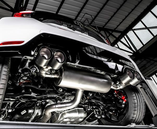Ragazzon GR Yaris Exhaust Systems