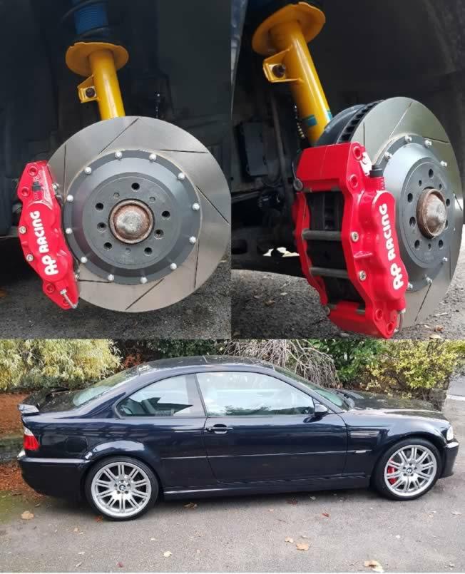 BMW E46 M3 - AP Big Brake kit & Bilstein B6 Dampers