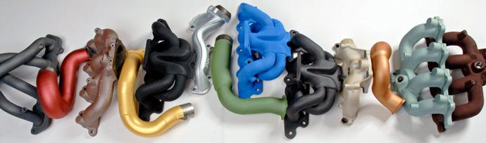 High Temp Coatings & Turbo Heat management