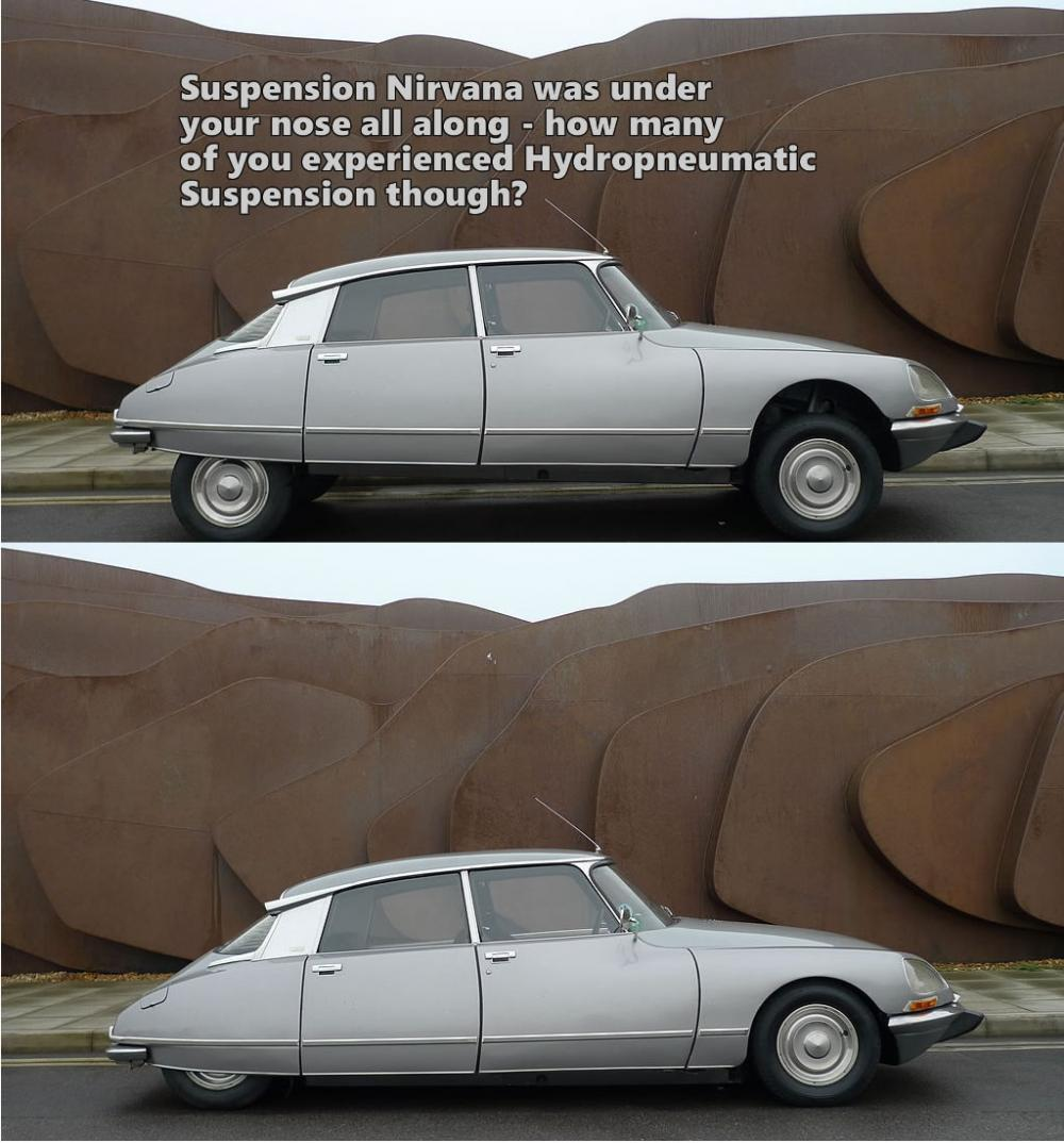 Hydropneumatic Suspension - why didn't it become mass market?