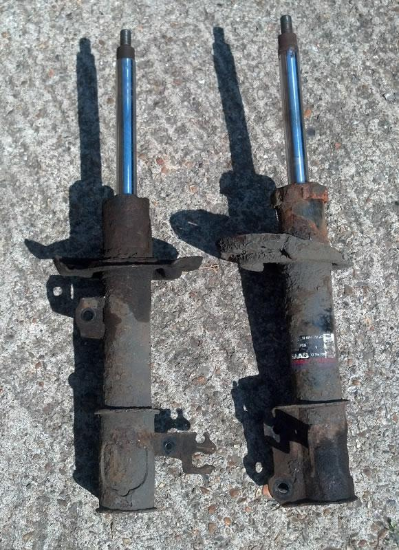 When to replace a damper?