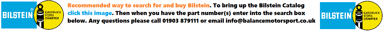 Bilstein Search - Click to open Bilstein Catalog and enter part in search below