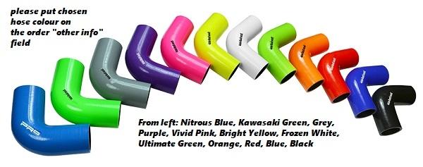 Airtec Silicone Hose Colour
