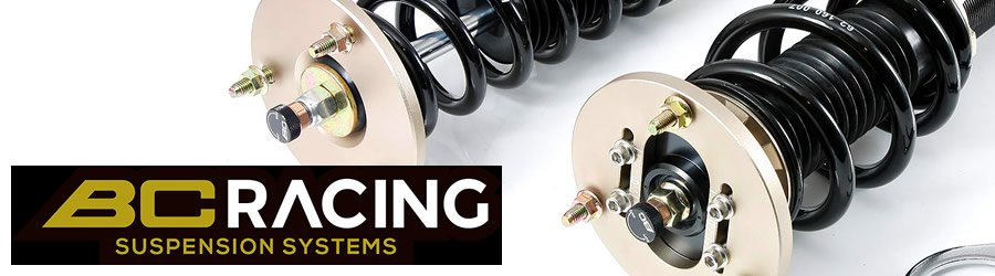 BC RACING COILOVERS HEADER IMAGE - picture of BC coilover and top mount