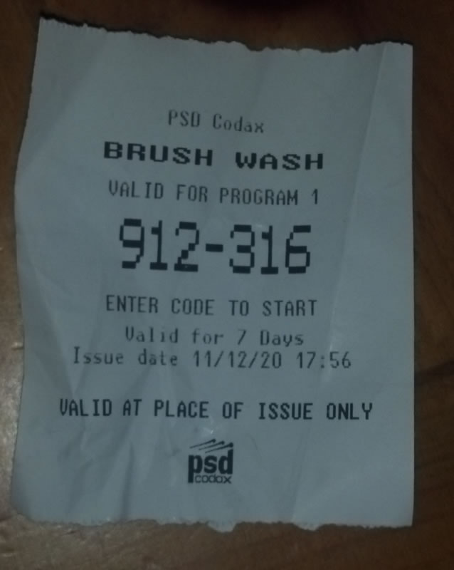 carwashcars ticket