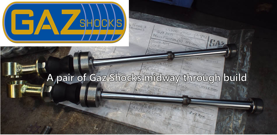 A pair of Gaz Shocks in build