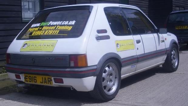 205 GTI PROJECT CAR